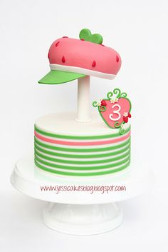 Jessicakes: Strawberry Shortcake Cake