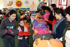 Beijing clothes donation