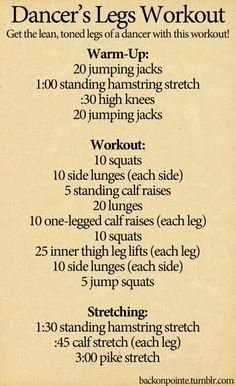 Works fast!! Add 20 scissors after the 5 jump squats to tone inner thighs