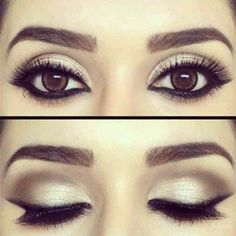 Create a neutral, yet edgy look for brown eyes. Beauty.com has great makeup to bring out the best in your brown eyes.