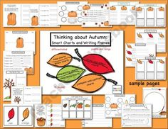 "Cultivate thinking and writing skills with this ""tree-mendous"" collection of autumn-themed graphic organizers and writing frames. (Thinking Maps Style)"