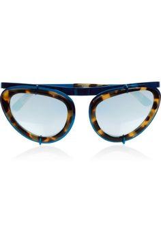 MC's Accessory of the Day - Erdem Cat Eye Sunglasses