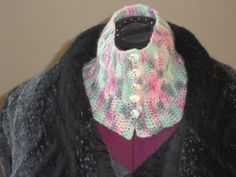 Warm and Soft Hand Crochet and Handpainted by SussesSpindehjrne, $26.00