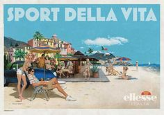 SPORT DELLA VITA - art work by Robert McGinnis - Summer 2011.