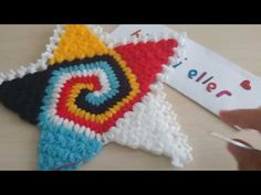 YouTube Puff Stitch Crochet, Crochet Chart, Crochet Patterns, Viking Tattoo Design, Viking Tattoos, Granny Videos, Moda Emo, Miniature Quilts, Sunflower Tattoo Design