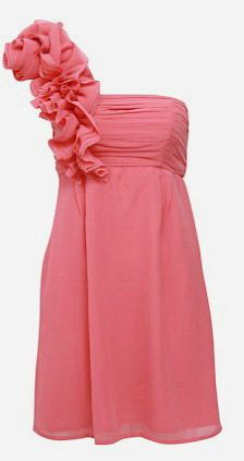 I love this for bridesmaids; too bad it's not green.