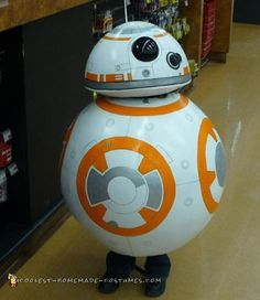 Coolest BB-8 Star Wars Costume... Coolest Homemade Costumes