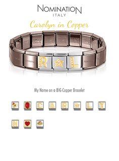 Caz in Copper Name Bracelet, Copper Bracelet, Classic, Bracelets, Jewelry, Derby, Jewlery, Jewerly, Schmuck