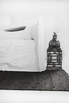 = rug + lantern + feather Ghost meets Tine K Home