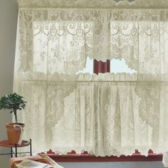 Heritage Lace Ivy Swag Tier Curtain & Reviews | Wayfair