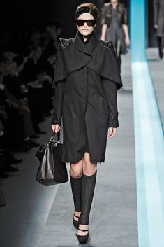 Fendi Fall 2009 Ready-to-Wear Fashion Show - Catherine McNeil