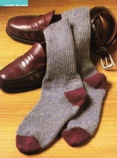 Z160 Crochet PATTERN ONLY Men s Milliert Socks Pattern 61a0f2e6af