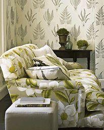 Woodland Ferns, Wallpaper by Sanderson