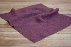 Purple Fabric 1 Piece  Layering set with matching by thymeline, $12.00