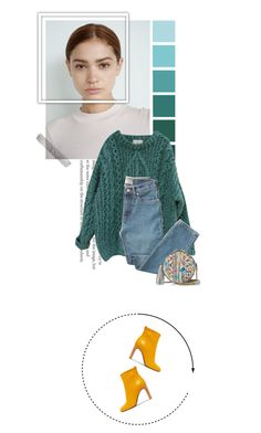 """""""petrol power"""" by beingaries ❤ liked on Polyvore featuring Essentiel, Everlane, Jérôme Dreyfuss and rag & bone"""