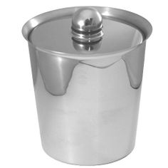 Oneida Insulated Ice Bucket, Stainless Steel by Oneida. $40.95. Black silicone accent on lid. Polished stainless steel. Perfect for every kitchen. Removable plastic insert. Modern design. Oneida's Insulated Ice Bucket has polished stainless steel and a removable plastic insert. The lid has black silicone accents.