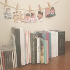 BTS room decor concepts for military cr to unique owners # deco … - Modern Army Room Decor, Skool Luv Affair, Album Bts, Aesthetic Room Decor, Kpop Merch, Room Goals, Room Tour, Foto Bts, Kpop Aesthetic