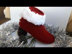 Bot patik modeli yapılışı/ayrıntılı anlatım - YouTube Crochet Boots, Crochet Slippers, Hand Crochet, Crochet Baby, Christmas Present For You, Cutwork Embroidery, Baby Boots, Knitting Socks, Hand Stitching