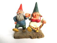 Classic Gnomes 'What a Beautiful Day' Gnome figurine after a design by Rien Poortvliet