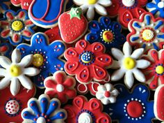 Flower Cut-Out Cookies