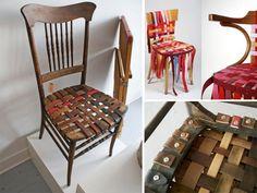 Le sedie fai da te in stile vintage per la cucina