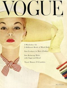 Jean Patchett, Vogue US May 1954