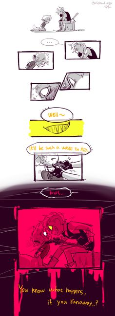 △ Gravity Falls- Bill Cipher and Dipper △ Monster Falls
