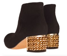 Lamperti Milano Mercy ankle boots black wool