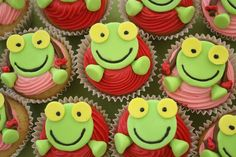 MINI DELICIAS Cupcakes: Sapo Pepe!! - Cupcakes Mini Delicias!!