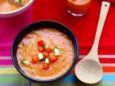 Gaspacho tomates-poivron - Recettes