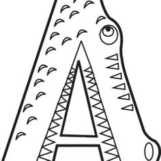 A Coloring Sheets letter a coloring page animal alphabet letter a crafts A Coloring Sheets. Here is A Coloring Sheets for you. A Coloring Sheets animal alphabet worksheets letter for ant printable coloring. A Coloring Sheet. Learning Tools, Preschool Learning, In Kindergarten, Fun Learning, Preschool Activities, Preschool Printables, Learning Letters, Free Printables, Alfabeto Animal