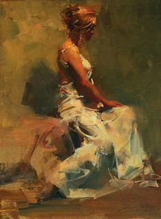 """'Colleen in Green"""" By Zhaoming Wu"""