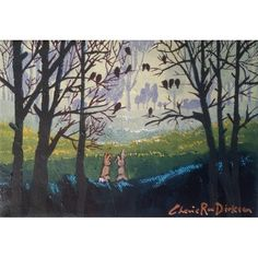 """Paintings - FREE COURIER --- """"MISTY MORNING GATHERING"""" Original Painting by KAROO Artist, Cherie Roe Dirksen for sale in Barrydale (ID:460493438) Original Paintings, Original Art, South African Artists, Art Auction, The Originals, Canvas, Board, Free, Tela"""