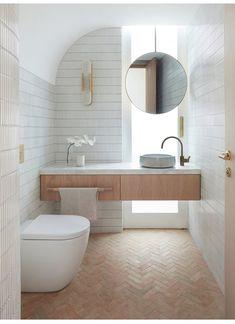 Bathroom Renos, Laundry In Bathroom, Bathroom Inspo, Bathroom Inspiration, Bathroom Mirrors, Interior Inspiration, Interior Exterior, Bathroom Interior Design, Interior Architecture
