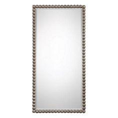 $150  Serna Antiqued Silver Mirror Uttermost Wall Mirror Mirrors Home Decor