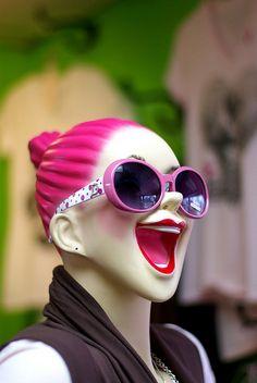 Big Smile mannequin