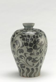 Goryeo period, first half of 12th century Korea, Jeollanam-do province, Gangjin county, Gangjin kilns Stoneware with iron pigment under celadon glaze 22.0 x 15.5 cm Gift of Charles Lang Freer Freer Gallery of Art