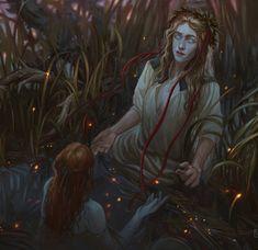 Rusalka, Artsy Fartsy, Mythology, Creepy, History, Characters, Painting, Art, Historia
