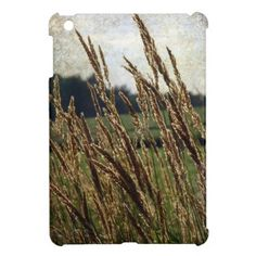 """This photo is almost impressionistic.   """"Grasses Blowing in the Wind"""" Cover For The iPad Mini"""