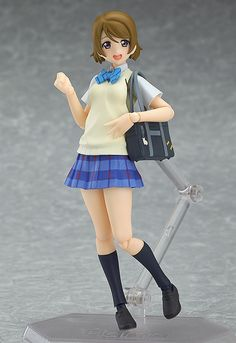 From the anime series 'LoveLive!' comes a figma of the μ's member that loves idols - Hanayo Koizumi! · Using the smooth yet posable joints of figma, you can act out a variety of different scenes. · Sh