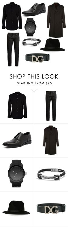 """""""Twilight fan fiction (voturi guards) wars outfit."""" by emily-pugh-i ❤ liked on Polyvore featuring Dolce&Gabbana, MasterCraft Union, Julius Marlow, Gucci, Diesel, David Yurman, Country Gentleman, men's fashion and menswear"""