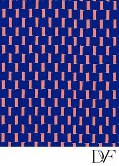 DVF | Screens Deep Orange Print, Pre-Fall 2012: Macadam Diva