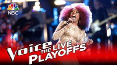 """The Voice 2016 Sa'Rayah - Live Playoffs: """"I'd Rather Go Blind"""""""