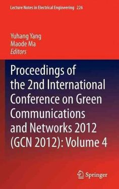 Proceedings of the 2nd International Conference on Communications and Networks 2012