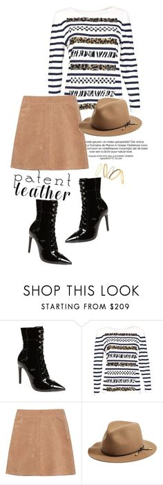 """""""Patent leather love"""" by gold-candle23 ❤ liked on Polyvore featuring Jeffrey Campbell, Marc Jacobs, See by Chloé, rag & bone, Madewell, stylish, Trendy, trend, patentleather and fashiontrend"""