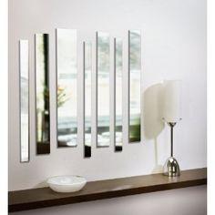 Amazing Umbra Strip Wall Mount Mirrors, Set Of 7 $50