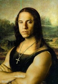 Funny pictures about The Mona Diesel. Oh, and cool pics about The Mona Diesel. Also, The Mona Diesel photos. Mona Lisa Funny, Mona Lisa Parody, Mona Lisa Smile, Vin Diesel, Dominic Toretto, Love Quotes Funny, Weird Pictures, Amazing Pictures, Fast And Furious