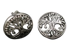 Sterling Silver Round Tree Of Life Stud Earrings – Butterfly Jewellery Tree Of Life Jewelry, Butterfly Jewelry, Sterling Silver Jewelry, Stud Earrings, Women, Stud Earring, Earring Studs, Woman