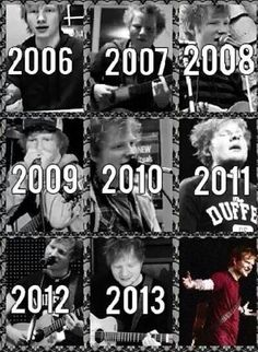 Ed over the years
