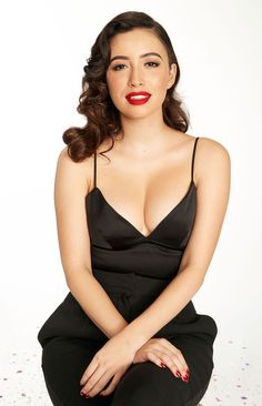 Christian Serratos...I can't see any other woman right now (literally and figuratively)